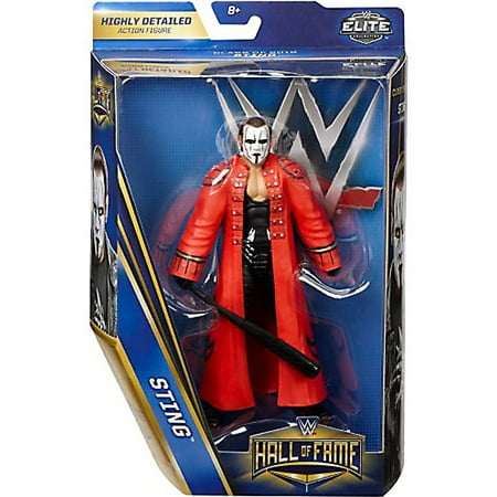 WWE Wrestling Elite Hall of Fame Class of 2016 Sting Action Figure for $<!---->