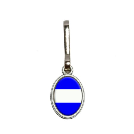Thin White Line EMS EMT Oval Zipper Pull