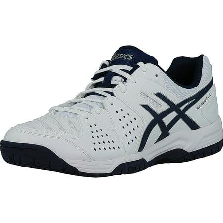 san francisco c8e44 d34a9 Asics - Asics Men s Gel-Dedicate 4 White   Navy   Silver Ankle-High Running  Shoe - 12.5M - Walmart.com
