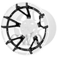 Gloss Black XD Series XD827 Rockstar 3 Split Spoke Insert For 20x9 -12mm Wheel