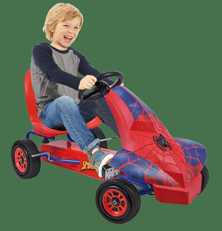 Marvel Spider Man Pedal Go Kart Walmart Com Walmart Com