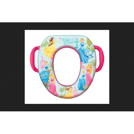 Ginsey Home Solutions Disney Princess Soft Child's Toilet Seat