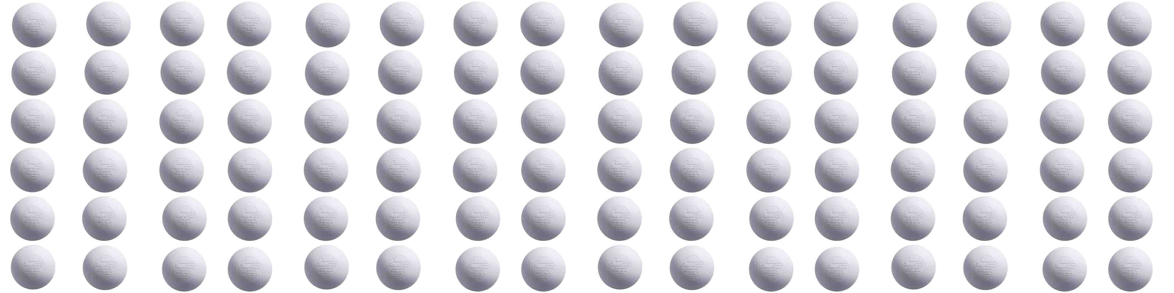 Champion Sports Official Lacrosse Balls 96 PACK by Champion