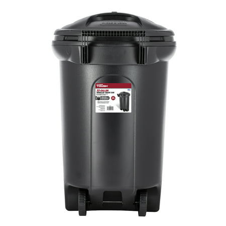 Gallon Brute Round Container Lid - Hyper Tough 32 Gallon Wheeled Trash Can with Turn & Lock Lid