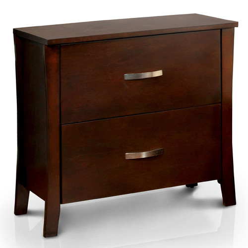 Hokku Designs Brookville 2 Drawer Nightstand