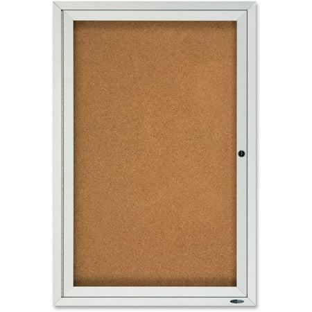 Quartet, QRT2121, Enclosed Outdoor Bulletin Board, 1 / Each ()