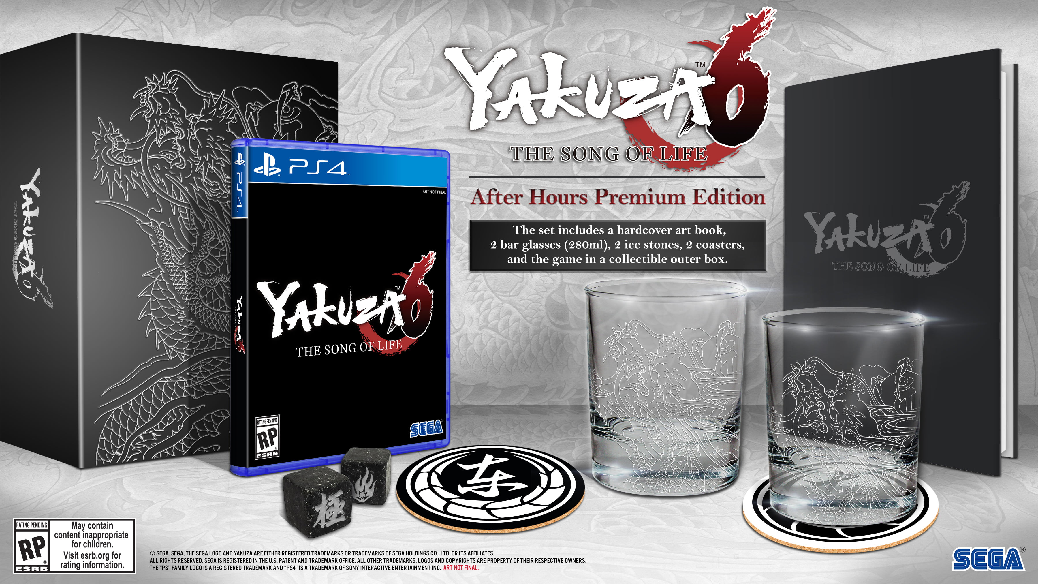 Yakuza 6: The Song of Life After Hours Premium Edition, Sega, PlayStation 4, 010086632231 by Sega