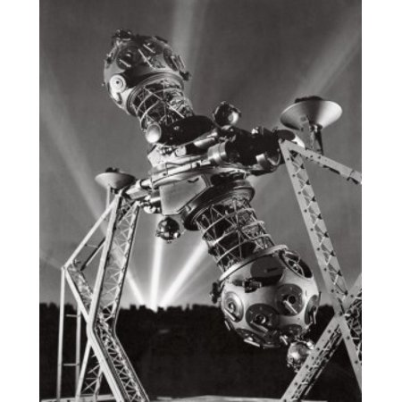 Low angle view of a planetarium projector Zeiss Projector Hayden Planetarium Central Park West Manhattan New York City New York USA Poster