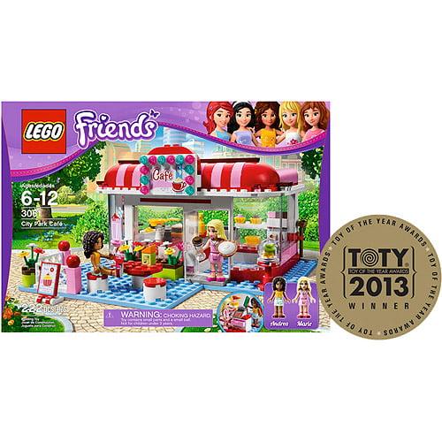 Lego Friends City Park Cafe Walmartcom