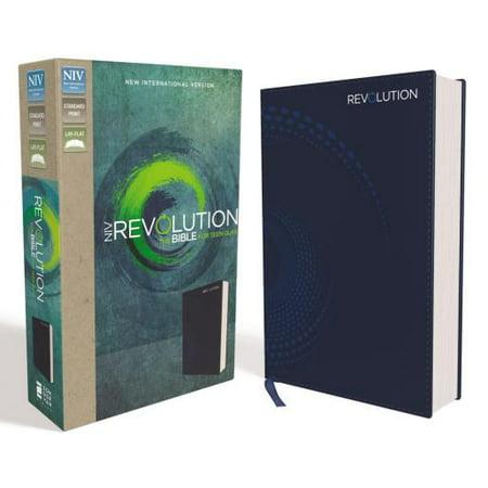 NIV, Revolution Bible, Imitation Leather, Blue : The Bible for Teen Guys - Teen Guy