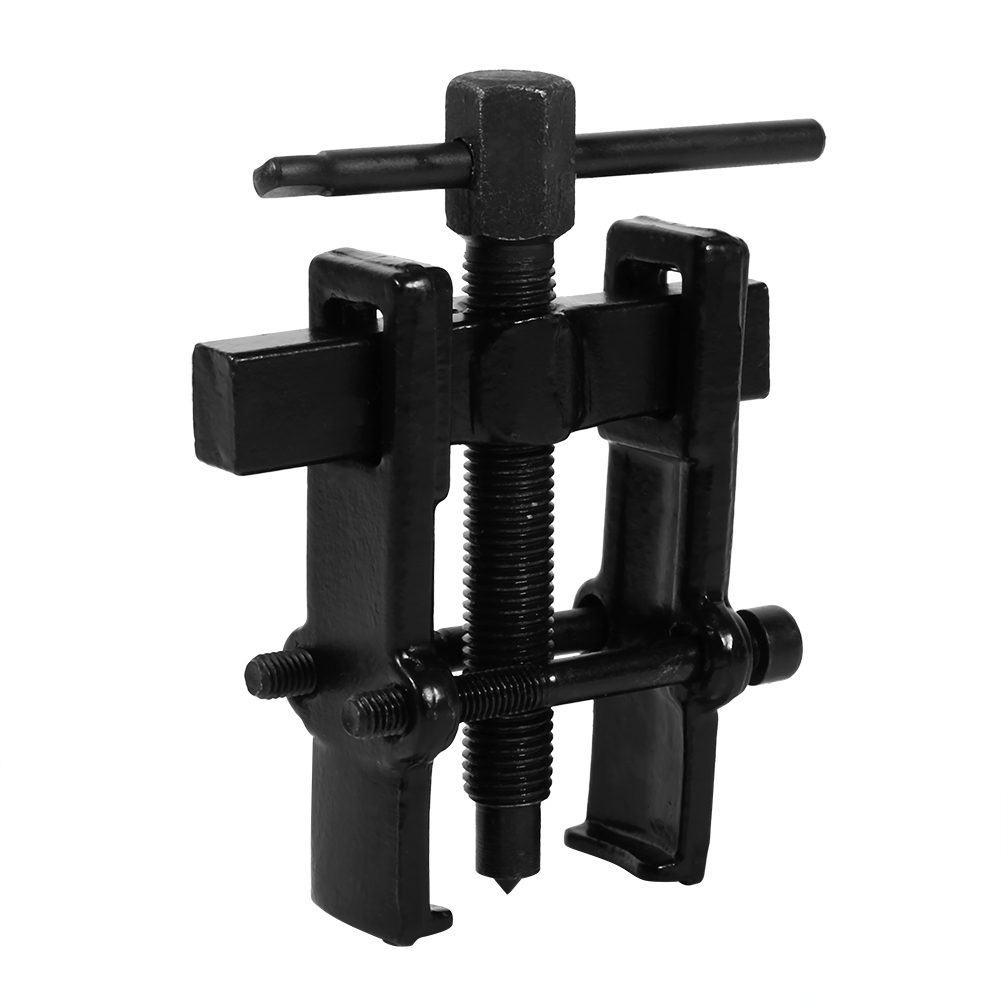 Black Two Jaw Bearing Gear Puller Extractor Installation Remover Hand Tool Kit