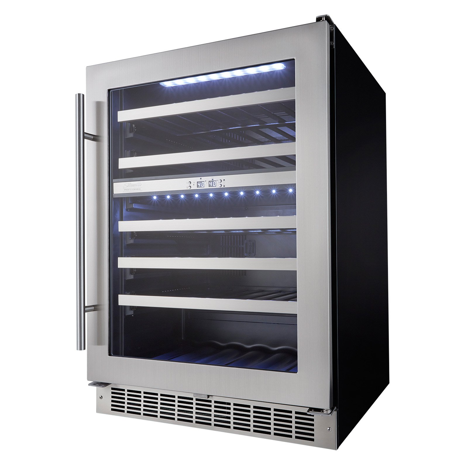 Silhouette Professional 51 bottle Built-In Wine Cooler