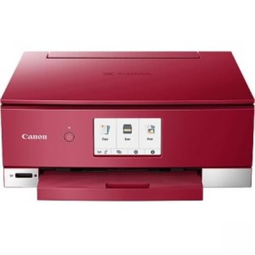 Canon PIXMA TS8220 Red Wireless Inkjet All-In-One Printer
