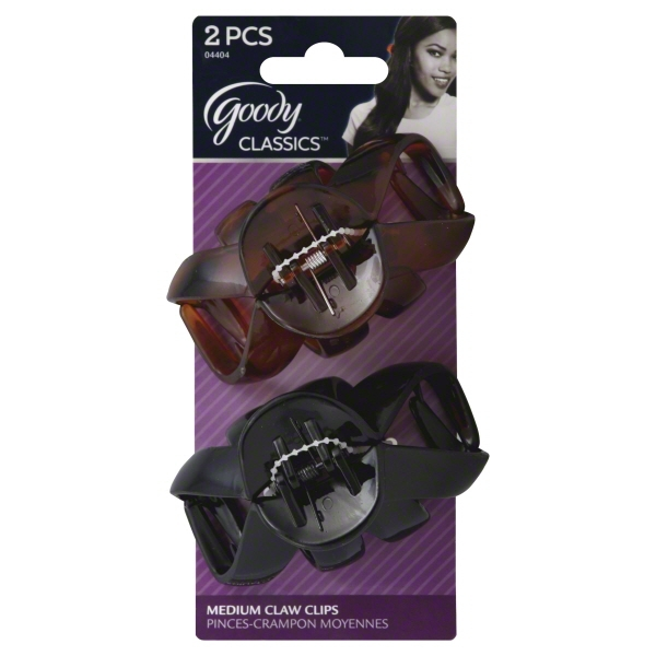 Goody Carolina Claw Clips, 2 count