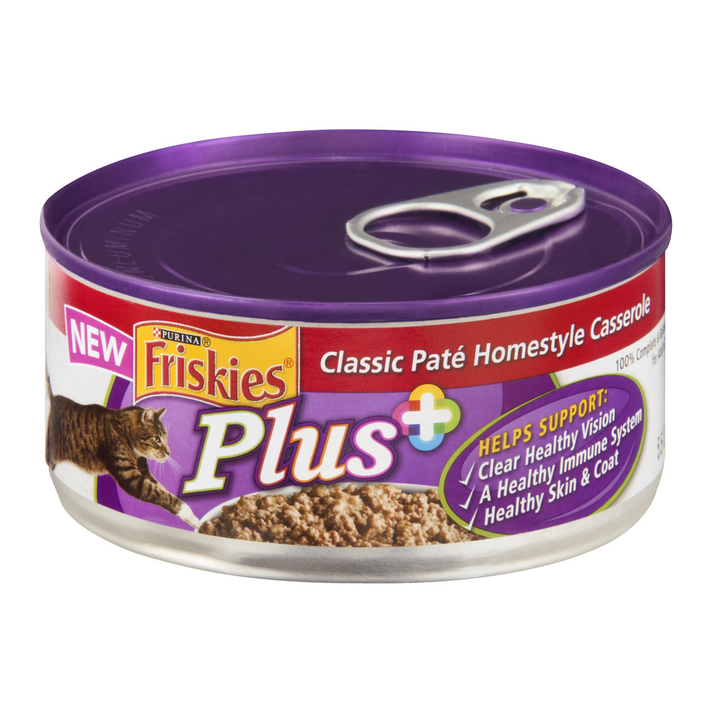 Purina Friskies Plus Classic Pate Homestyle Casserole 5 5
