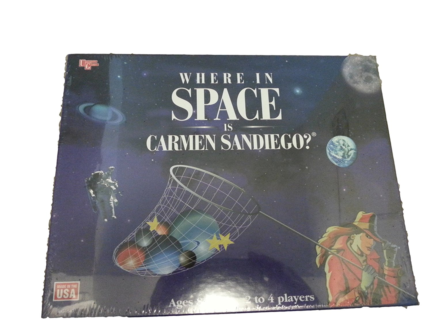 Where in Space Is Carmen Sandiego? Game, Explore space. By University Games by