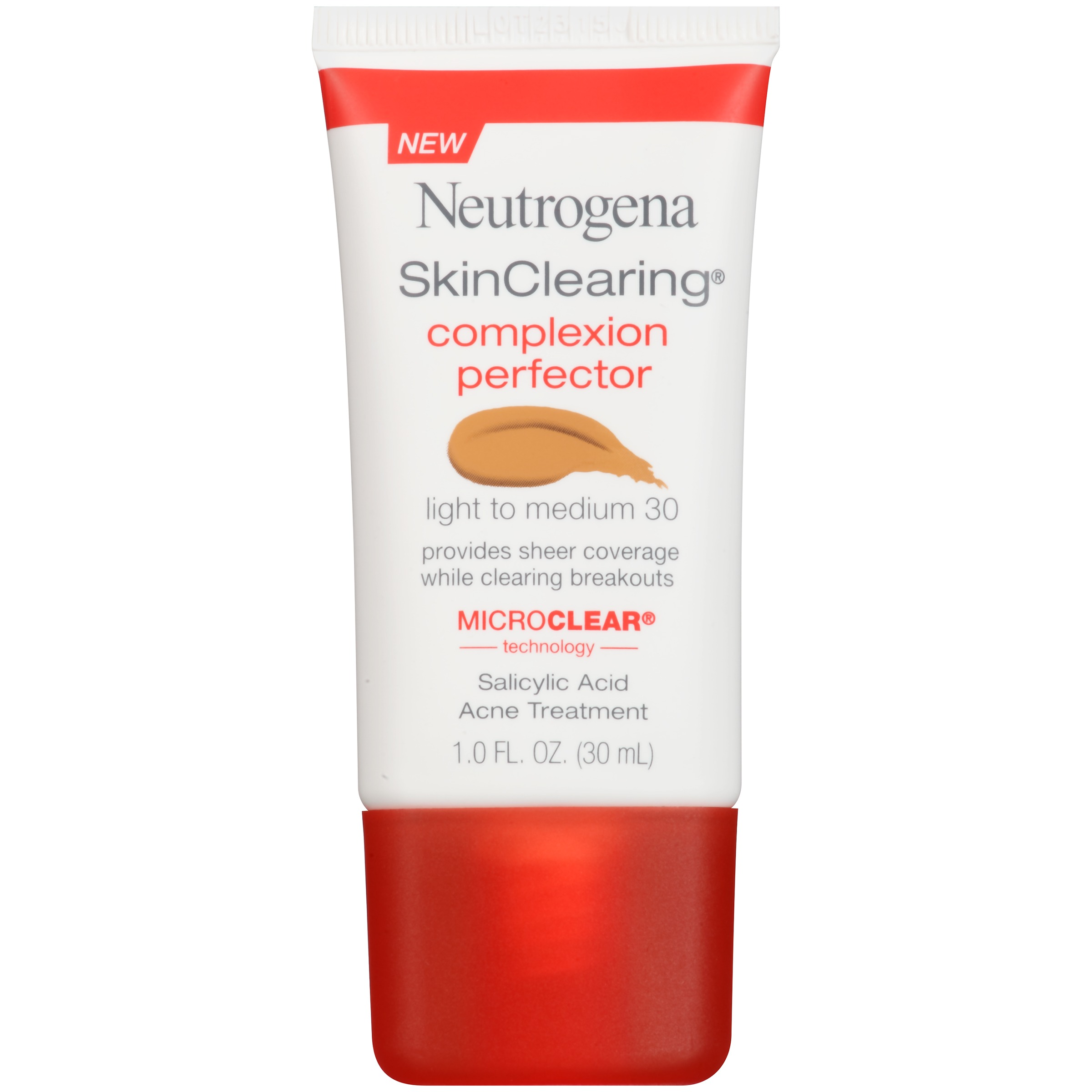 Maquillaje Para Ojos Perfeccionador de tez Neutrogena Skinclearing, luz - medio, 1 FL. Oz + Neutrogena en Veo y Compro