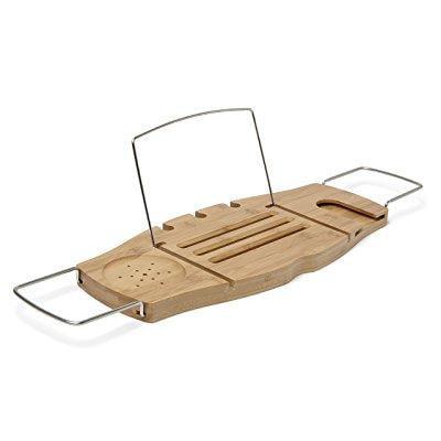 Umbra aquala bamboo bathtub caddy, natural