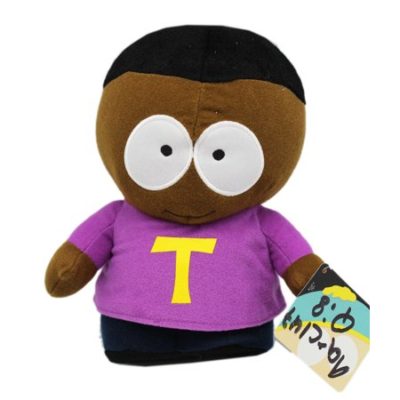 South Park Token Black Stand Up Collectible Plush Toy (9in) (Stuffed Animal Stand)