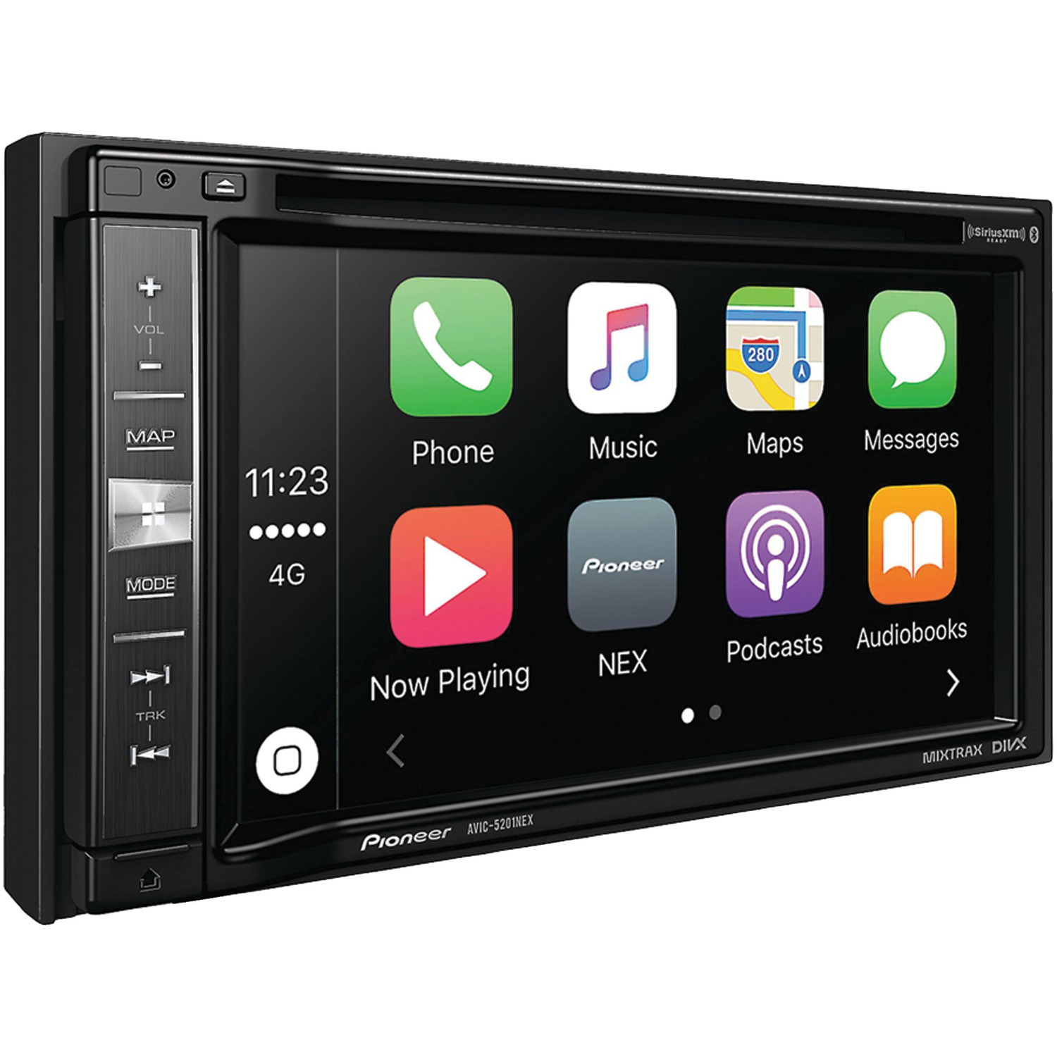 "Pioneer AVIC-5201NEX 6.2"" Double-Din In-Dash Nex Navigation A/V Receiver With Bluetooth & SiriusXM Ready"