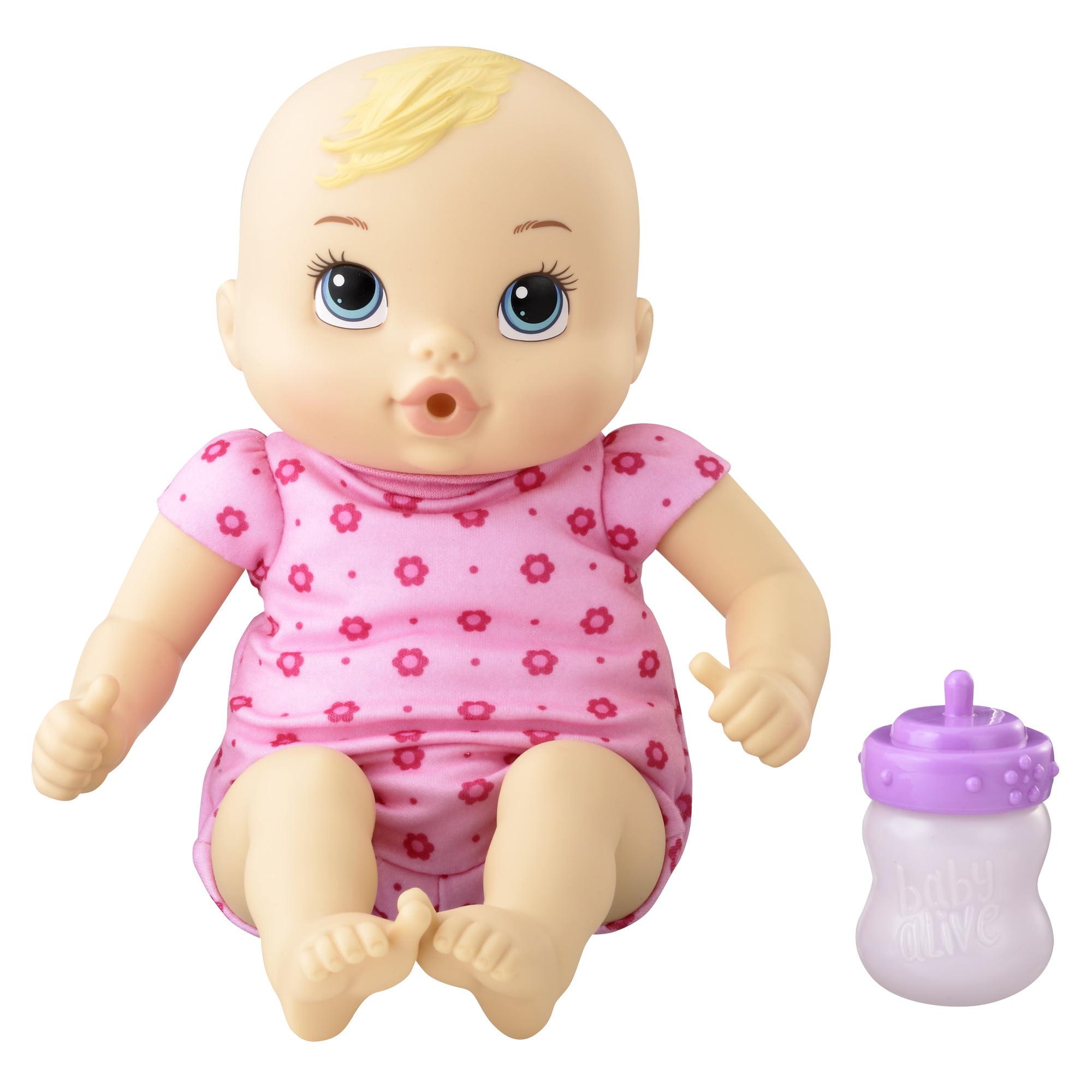 Baby alive luv n snuggle baby (blonde curly hair)