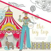 "KaiserColour Perfect Bound Coloring Book 9.75""X9.75""-The Big Top"