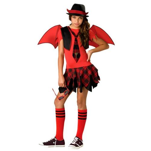 Incharacter Costumes IC94002-S Tween Delinquent Devil Costume Size Small