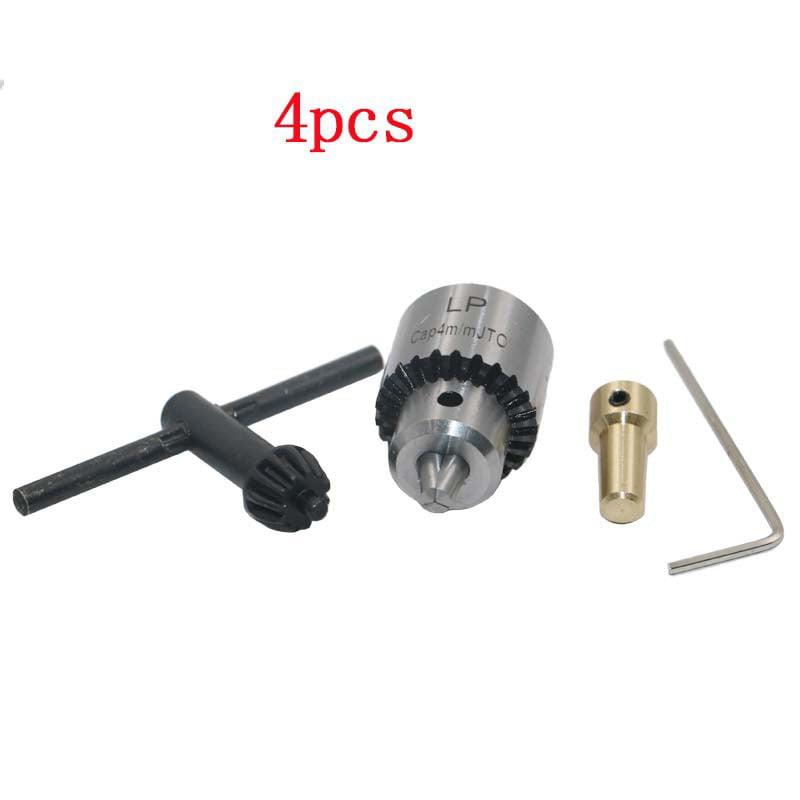 Micro Motor Electric Impact Drill Chuck Key Set 0.3-4mm Clamping Range Tools Kit