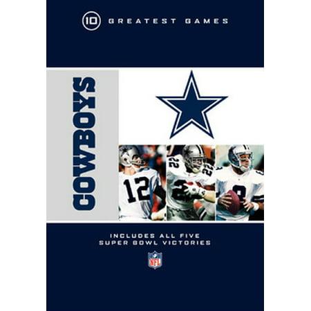 NFL Dallas Cowboys: 10 Greatest Games (DVD)](Dallas Cowboys Cheerleaders Halloween Dance)