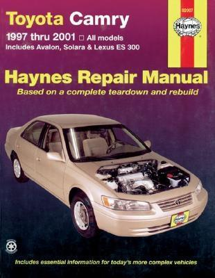 haynes repair manual paperback toyota camry and lexus es 300 1997 rh walmart com 97 Toyota Camry Engine Diagram 97 Toyota Camry Parts