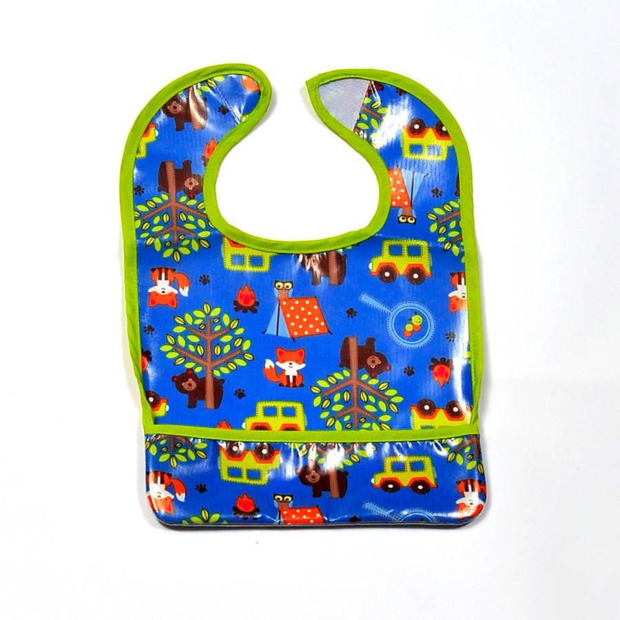 Parent's Choice Boys' Toddler Bib, Animals