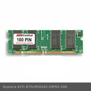 Kyocera 870LM00042 equivalent 256MB DMS Certified Memory 100 Pin DDR PC2700 2.5v SODIMM - DMS 256mb Ddr Sodimm Laptop Ram