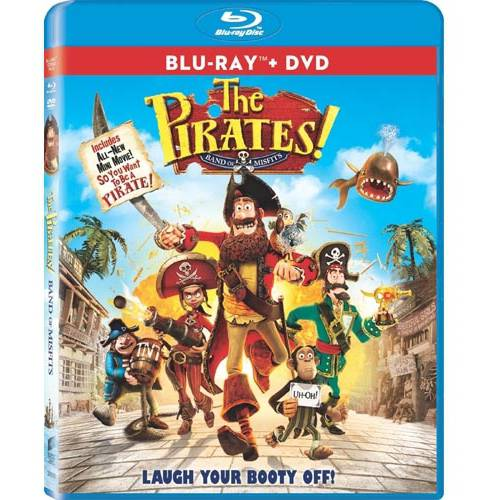 The Pirates! Band Of Misfits (Blu-ray + DVD) (Widescreen)