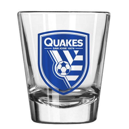 San Jose Earthquakes 2oz. Collectible Game Day Shot Glass - No Size