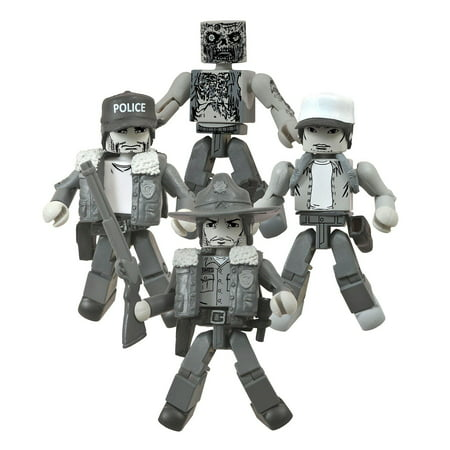 Walking Dead SDCC Days Gone By Minimates Box Set