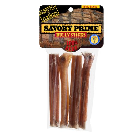 savory prime 8 american bully sticks 4 count. Black Bedroom Furniture Sets. Home Design Ideas