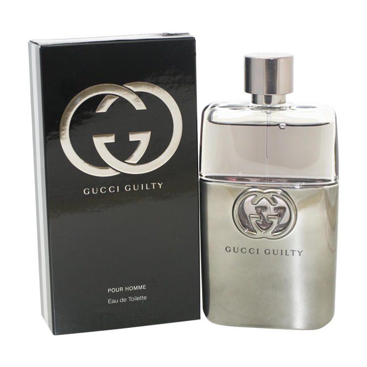 Gucci Guilty Eau De Toilette Spray 3.0 Oz / 90 Ml