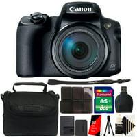 Canon PowerShot SX70 HS 65x Optical Zoom 4K Video Digital Camera 3071C001 Bundle