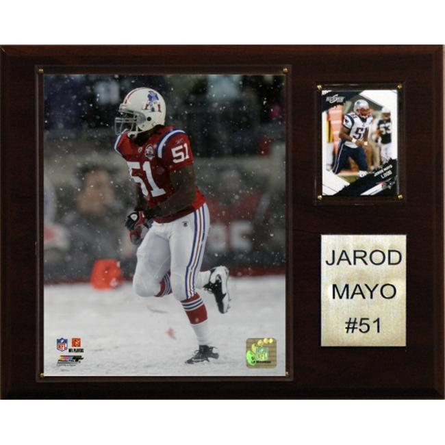 C & I Collectables 1215JMAYO NFL Jerod Mayo New England Patriots Player Plaque