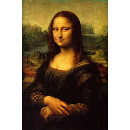 - LAMINATED POSTER Mona Lisa Painting Oil Painting Art Artwork Poster Print 24 x 36