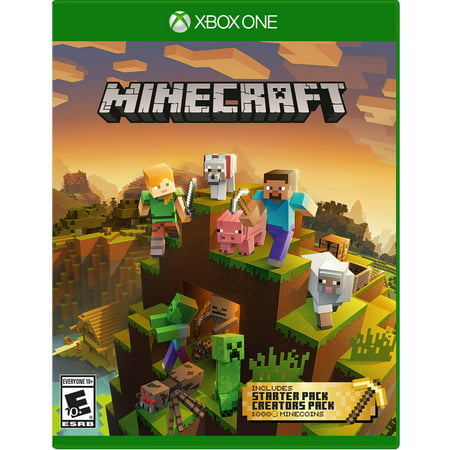 Minecraft Master Collection, Microsoft, Xbox One, 889842394979 (Superman Xbox One Game)