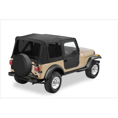 Bestop BES51123-15 Replace-A-Top Fabric Soft Top for 1976-2006 CJ5&