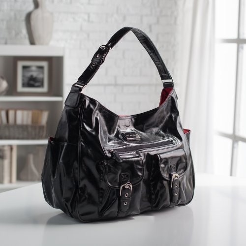 Amy Michelle Sweet Pea Go Work Tote - Black