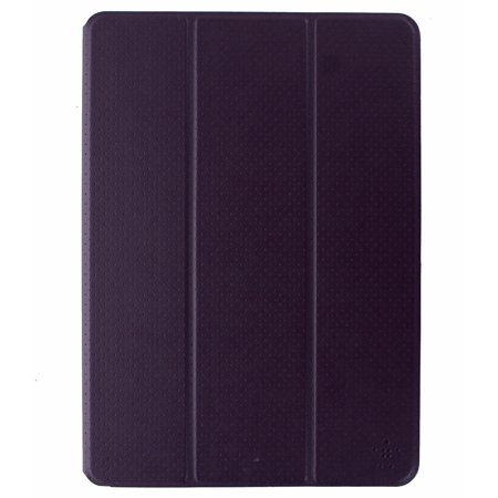 Belkin Tri-Fold Folio Case Cover for Apple iPad Pro 9.7 - Purple / Gray