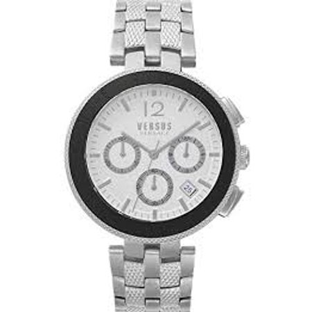 Icon Analogue Watch - Versus by Versace Analogue Quartz Watch with Stainless Steel Strap