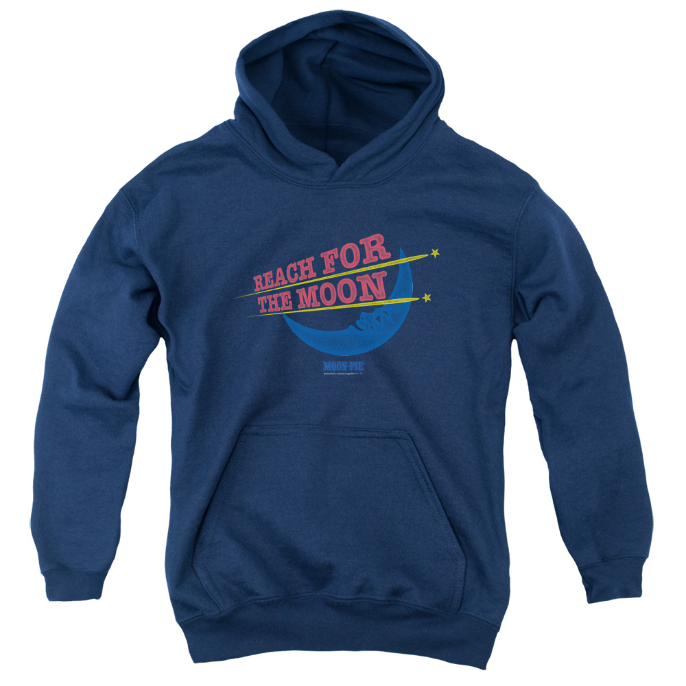 Moon Pie Reach For The Moon Big Boys Pullover Hoodie
