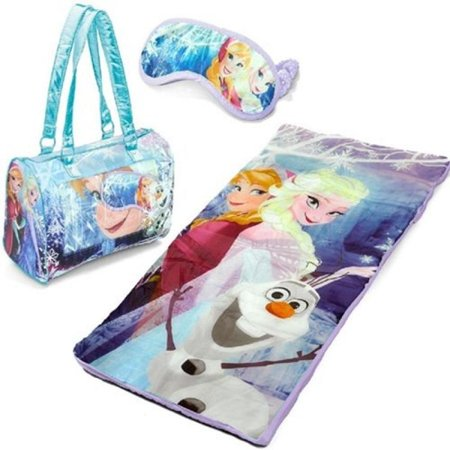 Girls Sleepover Set - Disney Frozen Anna, Elsa & Olaf 3-pc. Sleepover Set Girls