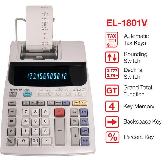 Sharp EL1801 V