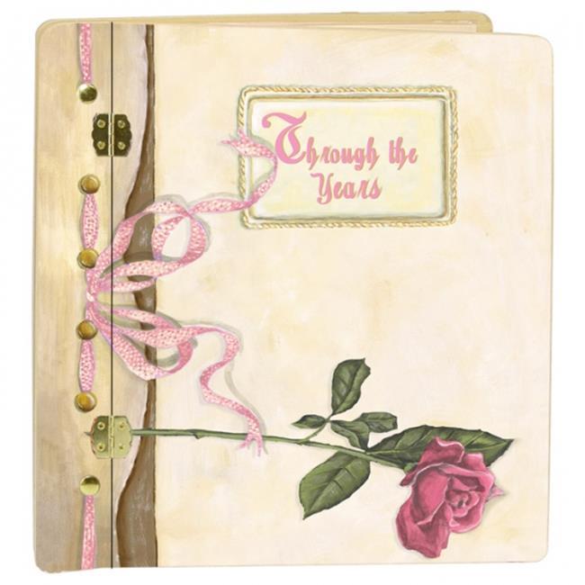 Lexington Studios 12056R Journal Book Rose Large Photo Album by Lexington Studios