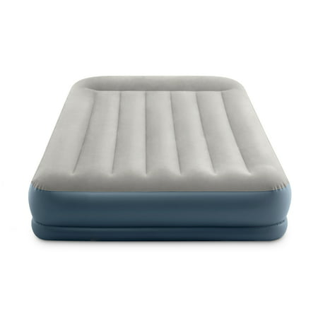 Intex 13inch Dura-Beam Pillow Rest Mid-Rise Airbed Mattress with Internal Pump - FULL